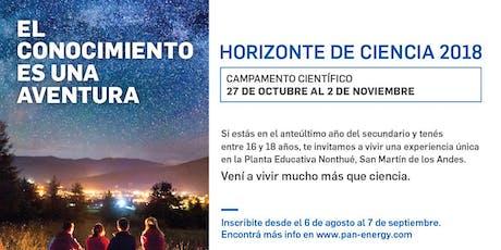 """Reunión informativa sobre """"Horizonte de Ciencia NQN 2019"""" entradas"""