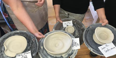 Pottery Wheel Workshop tickets