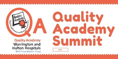 Quality Academy Summit tickets