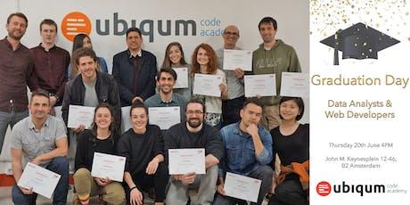Graduation Day at Ubiqum Code Academy Amsterdam tickets