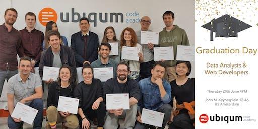 Graduation Day at Ubiqum Code Academy Amsterdam