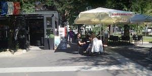 Aperitivo Estivo in Francese in piazzale Istria