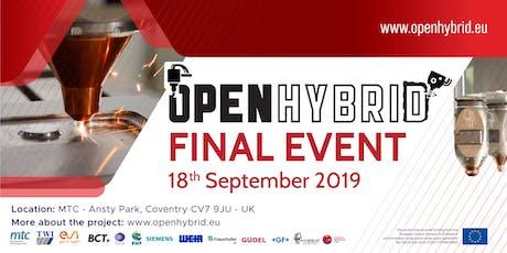 Open Hybrid Final Event tickets