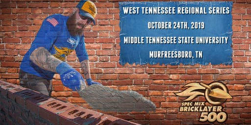 SPEC MIX BRICKLAYER 500® West Tennessee Regional Series