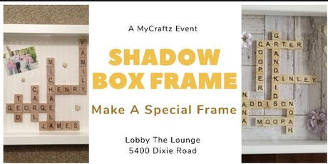 DIY Shadow Box Frame tickets