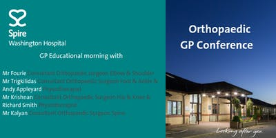 Orthopaedic GP and healthcare professional Confrence