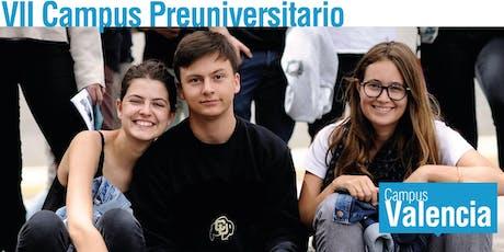 VII Edición Campus Preuniversitario Valencia tickets