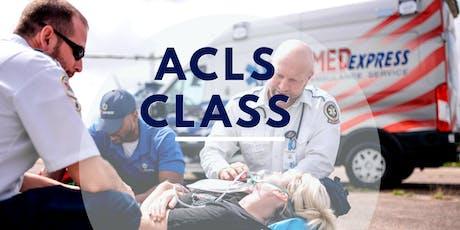 ACLS Class tickets