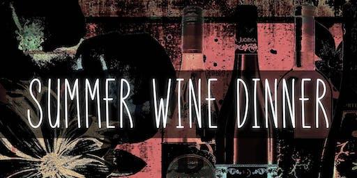 Summer Wine Dinner