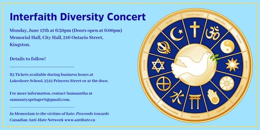 Interfaith & Diversity Concert