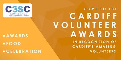 Cardiff Volunteering Awards celebration tickets
