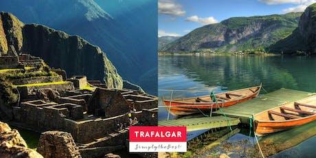 Spotlight on Travel: Breathtaking Adventures - Peru & Scandinavian Fjords tickets