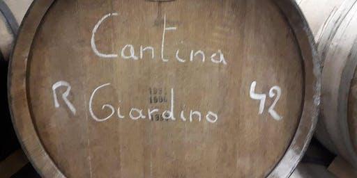 Cantillon & Cantina Giardino morning tasting
