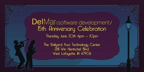 DelMar Software Development 15 Year Anniversary Party tickets