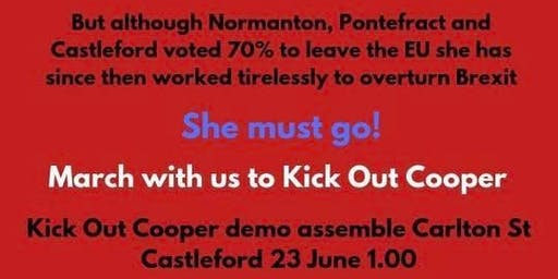 Kick Out Yvette Cooper MP