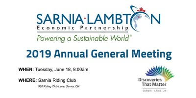 Sarnia-Lambton Economic Partnership Annual General Meeting