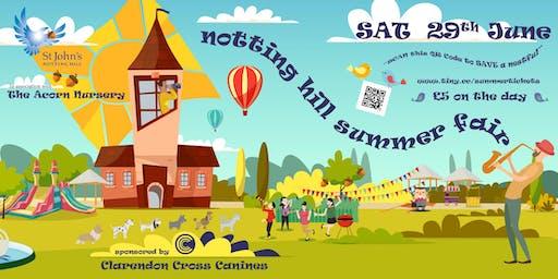 Notting Hill Summer Fair