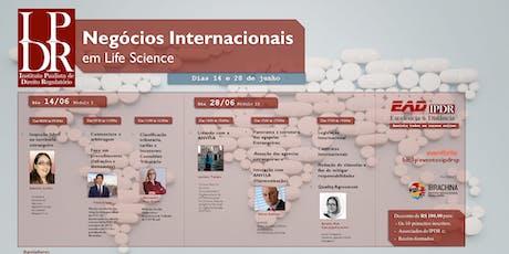 Negócios Internacionais em Life Science (Curso Completo) Presencial ingressos