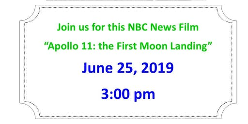 Apollo 11: The First Moon Landing - Movie Screening