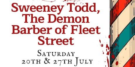Sweeney Todd, the Demon Barber of Fleet Street tickets