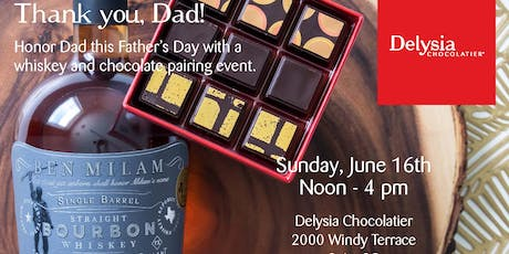 Chocolate and Whiskey for Dad tickets