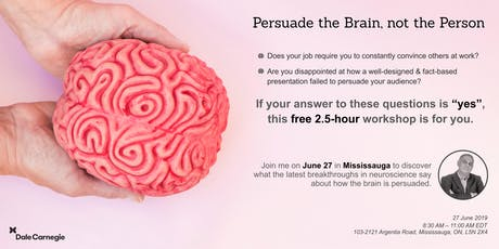 Persuade the Brain, Not the Person tickets
