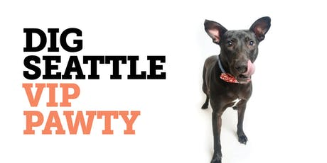 Dig Seattle VIP Pawty tickets