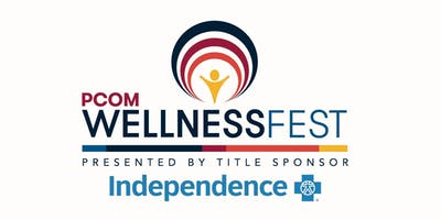 PCOM Wellness Fest Presented by Title Sponsor Independence Blue Cross