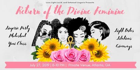 Return of the Divine Feminine  tickets