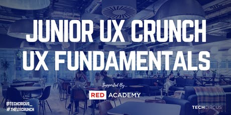 Junior UX Crunch: UX Fundamentals tickets