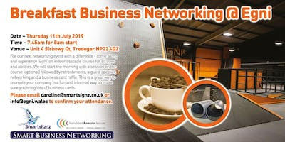 Breakfast Business Networking at Egni