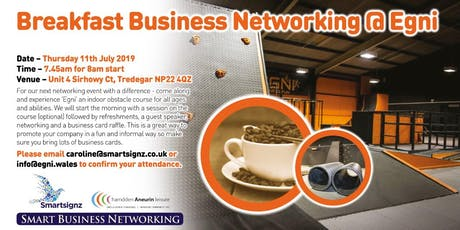 Breakfast Business Networking at Egni tickets