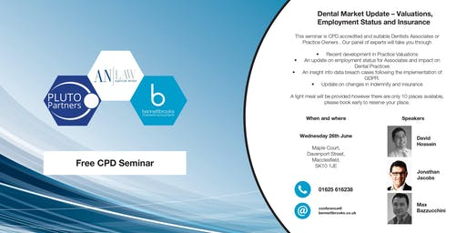 Dental Market update – Valuations, Employment Status and Insurance