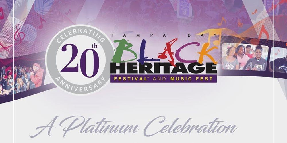 Tampa Calendar Of Events January 2020 Tampa Bay Black Heritage Music Fest 2020 Tickets, Sat, Jan 18