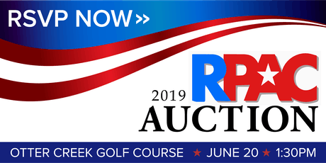 2019 RPAC Auction tickets