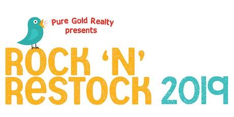 Rock 'N' Restock tickets
