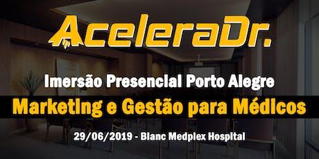 Estratégias Secretas de Marketing Digital Médico e Gestão Clínica - Imersão ingressos