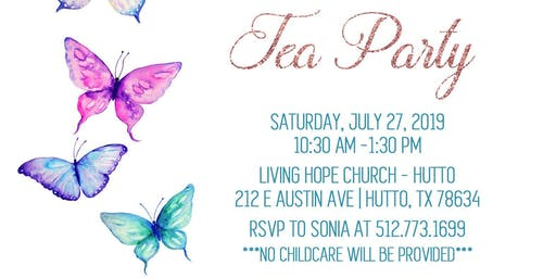 Sparkle Tea Party