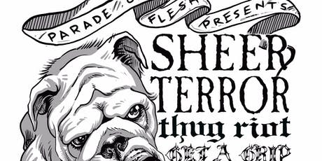 SHEER TERROR • THUG RIOT • GET A GRIP at Barracuda tickets