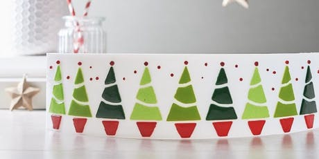 Create Christmas with glass fusing  tickets