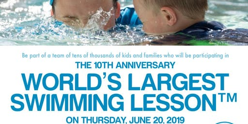 World's Largest Swim Lesson