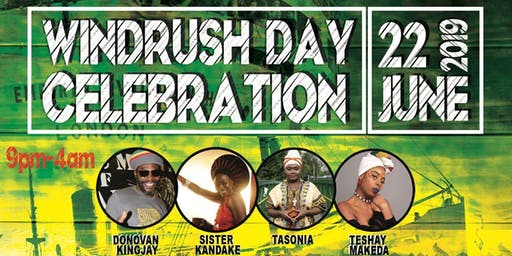 Cecil Reuben Presents... Windrush Day Celebration