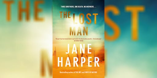 The Lost Man: An Evening with Jane Harper
