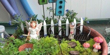 Fairy Garden in Terra Cotta Pot