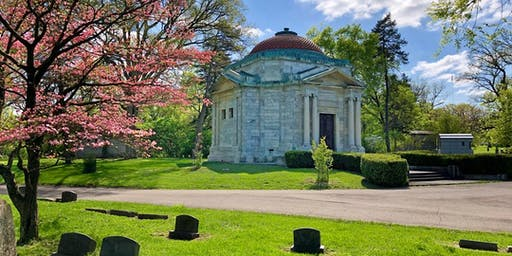Summer Walk at Green Lawn Cemetery