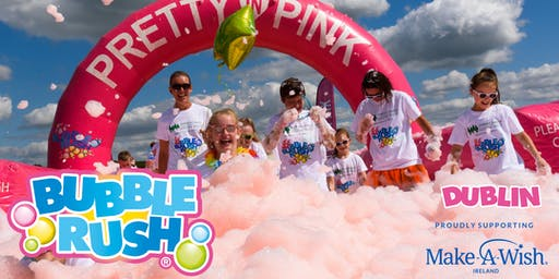 BUBBLE RUSH - DUBLIN: The fun run through coloured bubbles