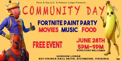 """COMMUNITY DAY"" FREE KIDS EVENT"