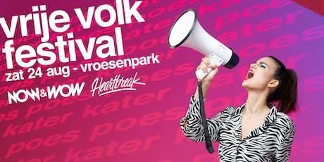 vrije volk festival 2019 billets