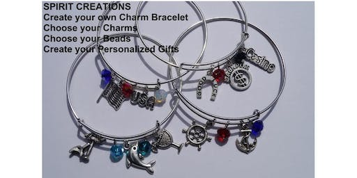 Make and Take Expandable Charm Bracelet  Night Out