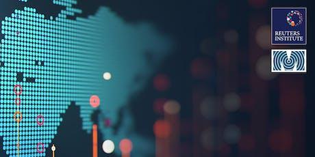 Canadian unveiling of the 2019 Reuters Institute Digital News Report/ dévoilement canadien du rapport sur les nouvelles numériques 2019 du Reuters Institute. billets